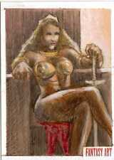 Fantasy Art Sketch Card by Huy Truong /3 - Unstoppable Loaded Pack Release