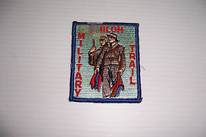 VINTAGE BOY SCOUT HISTORICAL TRAIL PATCH SHILOH MILITARY TRAIL