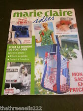 FRENCH MARIE CLAIRE IDEES - PATCHWORK BAG - MAY 2010