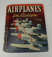 Airplanes in Action Copyright 1938 Planes Navy, Army and Coast Guard Vintage