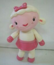 """Disney LAMBIE the LAMB from DOC McSTUFFINS 7"""" Toy Figure Sheep Articulated Rare"""