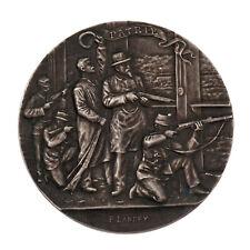 Médaille Argent Tir Fédéral de 1898 à Neuchatel / F.Landry Graveur