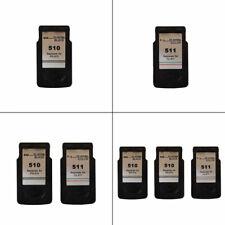 Canon PG510 Black / CL511 Colour Refilled Ink Cartridge For PIXMA MP495 Printer
