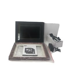 "eMotion 12""inch Digital Picture Frame  Black Or Cherrywood Frame New No Box"