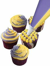 Dual Colour Icing Bags 2 Colours Piping Bag With or Without Nozzle Baking Bake