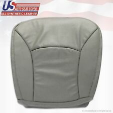 2004 2005 2006 2007 2008 Ford E450 Van Driver Bottom Perforated Vinyl Seat GRAY