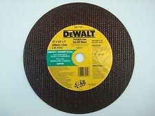 """DeWalt New OEM DW8026 Cut-Off Wheel 12"""" 1/8"""" 1"""" Concrete Masonry C24P-BF D28754"""
