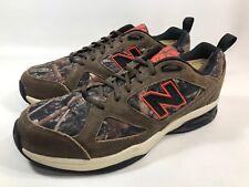 1354cbe29008e New Balance 623 Orange/Camo Hunting Fishing Running Shoe Men's Size 11 D (a7