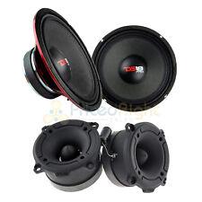 "2 PRO-X10M 10"" Midrange Speakers & 2 Pro-TW120B 1"" Super Bullet Tweeters Bundle"