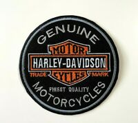 Harley Davidson Patch Embroidered Motorcycle biker Patches Badge Iron/Sew on