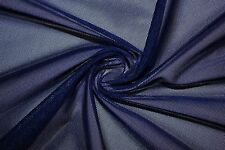 Power Mesh 4 Way Stretch Nylon Lycra Spandex Dancewear Swimwear Fabric BTY