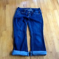 American Eagle Outfitters AEO Womens Jeans Short Stretch Blue  size 4