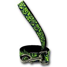 Riddler Symbols Dog Leash Green