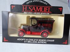Lledo Model --Bullnose Morris Van-H Samuel  Adopt-A Child`s Wheelchair Appeal.
