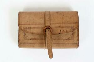 """Vintage ~ """"Farlow"""" Leather Fly Wallet with Flies          #2254"""