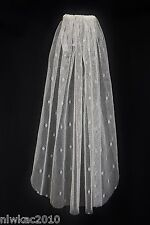 J CREW SHORT TULLE VEIL IVORY WEDDING NEW WITH TAGS! A4947