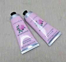 Crabtree & Evelyn Rosewater Hand Therapy Cream 3.5 oz each - Lot of 2