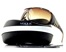 RARE New Genuine VOGUE Brown Havana Sheild Crystals Sunglasses VO 2509SB 157813