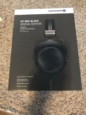 NEW - Beyerdynamic DT 880 Premium 250 ohm Limited All Black Over-Ear Headphones