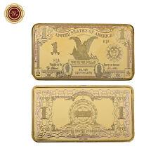 WR 1899 $1 Silver Certificate Black Eagle Dollar US Gold Bar Note Ingot Collect