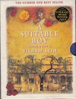 Vikram Seth A Suitable Boy 4 Cassette Audio Book Abridged FASTPOST