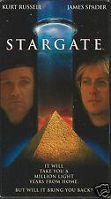 Stargate (VHS Tape, 1995) Kurt Russell James Spader
