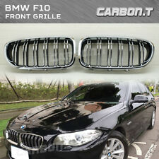 2011-2016 BMW F10 M5 Look Chrome Frame & Fence + Black Rear Part Front Grille