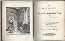 Ladies hand book of fancy and ornamental work by miss florence hartley 1860 hc