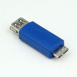 USB 3.0 SUPER SPEED Type A Male to Female Micro B Converter Adapter Cable