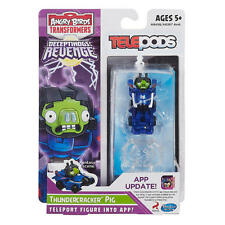 Transformers Angry Birds Telepods APP Game iOs Android Thundercracker Pig