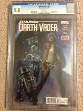 STAR WARS Darth Vader #3 CGC 9.8 Mint White Pages 1st Aphra and BT-1