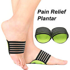 Foot Heel Pain Relief Plantar Fasciitis Insole Pads & Arch Support Shoes