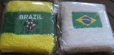 2 er Brazil 2006 Fußball Schweißband Wristband neu Sport Unisex Set