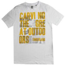 Magliette, maglie e camicie Timberland a manica corta 100% Cotone per bambini dai 2 ai 16 anni