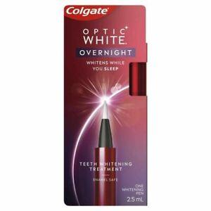 COLGATE Optic White Overnight Teeth Whitening Treatment Pen 2.5ML