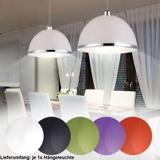 LED Pendel Leuchten Ess Zimmer Hänge Beleuchtung Chrom Dekor Ring Decken Lampen