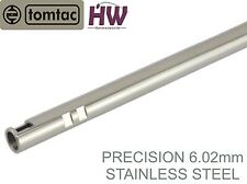 AIRSOFT PRECISION INNER BARREL 6.02 STAINLESS STEEL TIGHT BORE 650mm TOMTAC 6.03