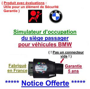 Pour réparer tapis sensitif BMW voyant airbag allumé BMW E36 E 38 E39 E 46 E60