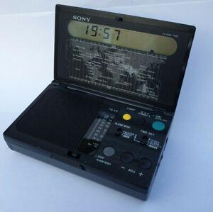 SONY ICF-C1000 FM AM TRAVELLING WORLD TIME RADIO