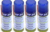 4 x DP-60 White Lithium Grease Maintenance Spray DP60 Synthetic Lubricant 200ml.