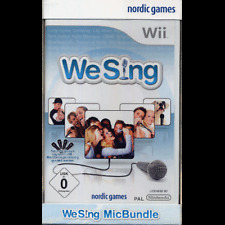 We Sing Incl. 2 Microphones Nintendo Wii NEW + original package