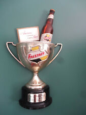 VINTAGE FALSTAFF BEER AMERICA'S PREMIUM FALSTAFF BREWING CORP. TROPHY BEER SIGN