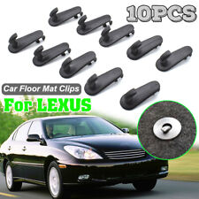 10Pcs Car Floor Mat Clips Retention For Lexus Carpet Grips Fixing Hooks Clamps