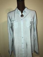 Women's Van Heusen Long Sleeve Casual Dress Blouse - Size Medium