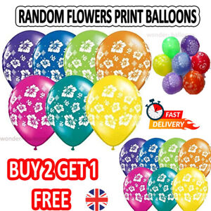 "12"" Mix Printed Balloons kids/ adults Birthday weeding Party Ballons Helium"