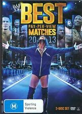WWE - Best Pay-Per-View Matches Of 2013 (DVD, 2014, 3-Disc Set) - Region 4