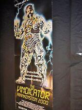 VINDICATOR frankenstein 2000  affiche cinema  fantastique