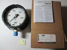 """New In Box Ametek 150034x Guage 1981 2300 Psi 1/2 Anpt Lm 4 1/2"""" (195)"""