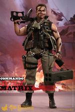 Hot Toys John Matrix Commando 1/6 Scale Figure Schwarzenegger Terminator misb