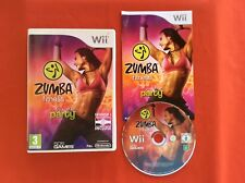 Zumba Fitness Join the Party Belt Included Nintendo Wii Complete Pal